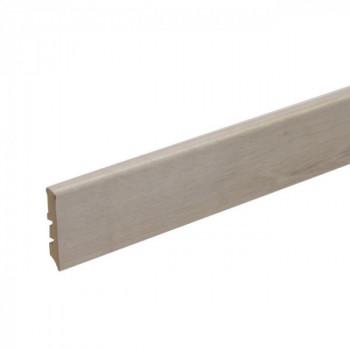 Plinthe bastide blanc 12 mm x 58 mm x 240 cm