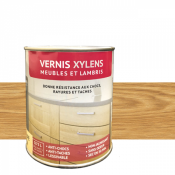 Vernis Xylens spécial lambris chêne clair 0,75 L