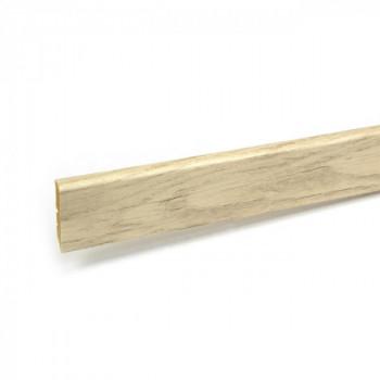 Plinthe pin rustique 12 mm x 58 mm x 250 cm