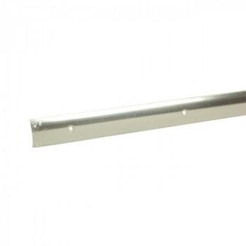 Barre de seuil inox 45 mm x 166 cm