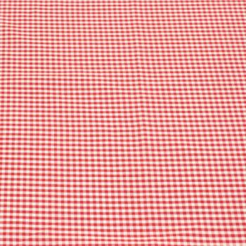 Tissu tissé teint carreaux rouge 150 cm
