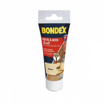 Pâte à bois 2 en 1 BONDEX naturel aspect mat