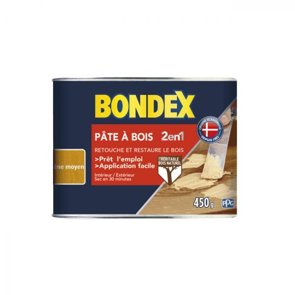 Pâte à bois 2 en 1 BONDEX chêne moyen...