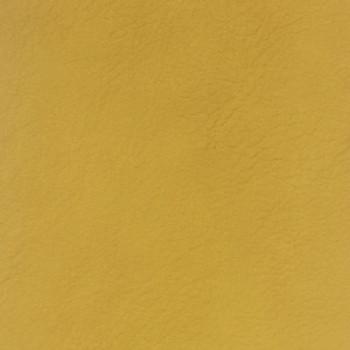 Tissu simili cuir uni jaune 140 cm