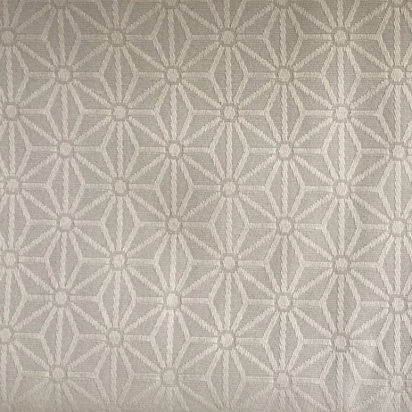 Tissu enduit motif géométrique...
