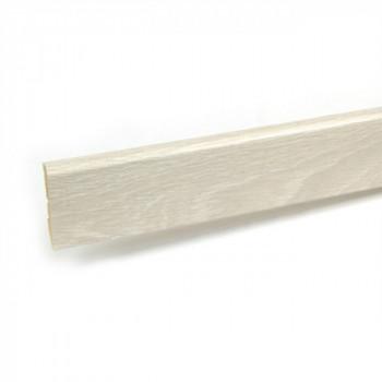 Plinthe pin gris 12 mm x 58 mm x 250 cm