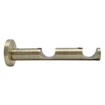 Support OLYMPE double ouvert bronze 85 - 165 mm D28mm