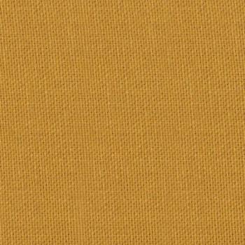 Tissu coton émerisé jaune moutarde