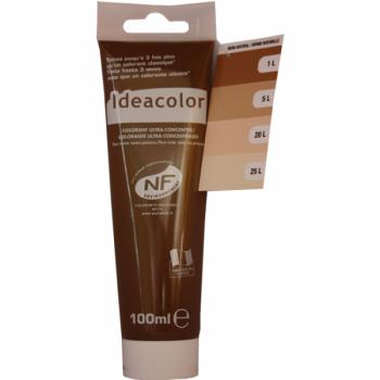 Colorant Idéacolor ultra concentré sienne naturel 100 ml
