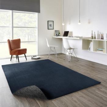 Tapis Uni bleu 120 x 170 cm
