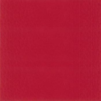 Tissu simili cuir rouge 140 cm