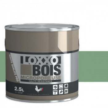 Peinture LOXXO bois vert pâle satin 2.5L