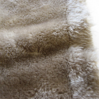 Tissu imitation fourrure Doudou lin 150 cm