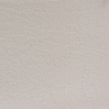Tissu éponge blanc 155 cm
