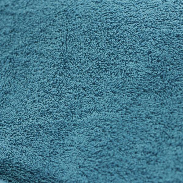 Tissu éponge bleu canard 155 cm