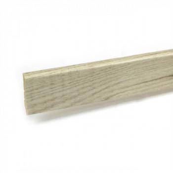 Plinthe pin pecan 12 mm x 58 mm x 250 cm