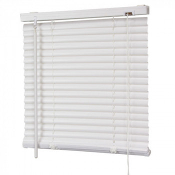 Store vénitien PVC blanc 50 x 130 cm