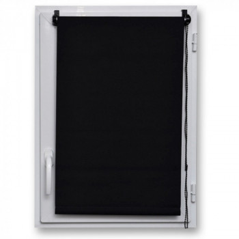 Store enrouleur occultant noir 120 x 180 cm