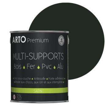 Peinture Arto Premium multi-supports vert mousse satin 2,5L