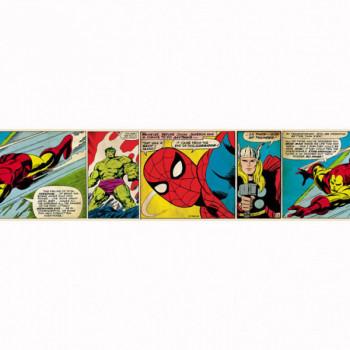Frise murale adhésive Marvel Avengers