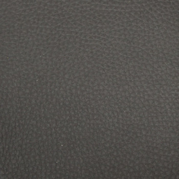 Tissu simili cuir noir envers mousse 3mm 140 cm