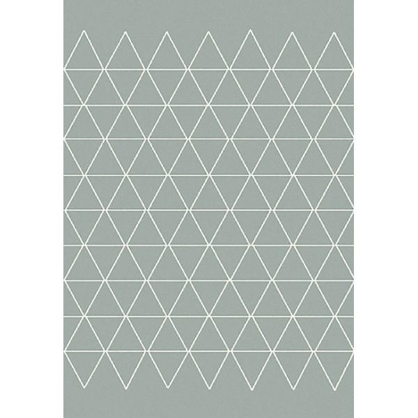 Tapis triangles gris 160 x 230 cm