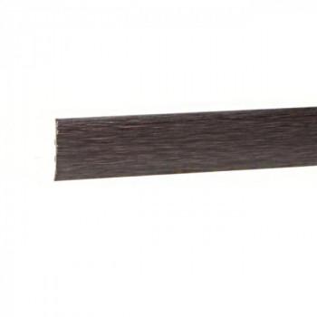 Barre de seuil à clipser métal oxydé 41 mm x 83 cm