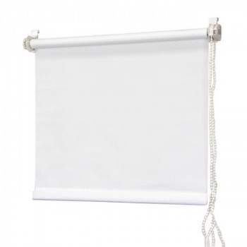 Store enrouleur tamisant blanc 120 x 180 cm