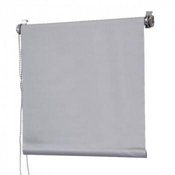 Store enrouleur occultant gris 120 x 180 cm