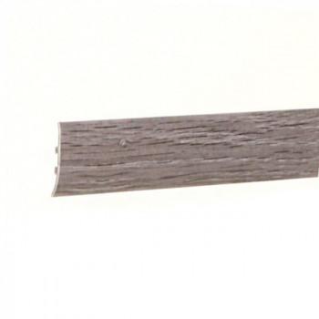 Barre de seuil à clipser pin gris 41 mm x 83 cm