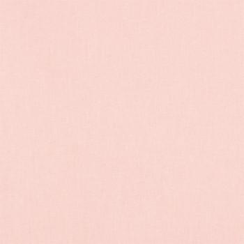 Tissu cretonne uni Rose blush 150 cm