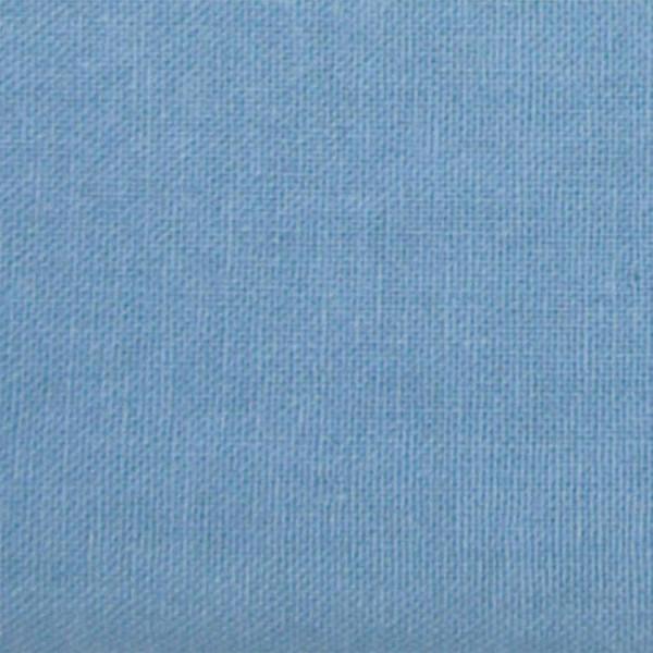 Tissu cretonne uni Bleu 150 cm