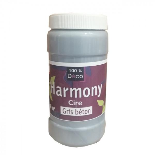 Cire 100% Déco harmony gris béton 1 L