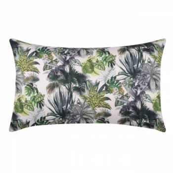 Coussin rectangle imprimé végétal