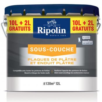 Sous-couche Ripolin spéciale plâtre blanc mat 12 L