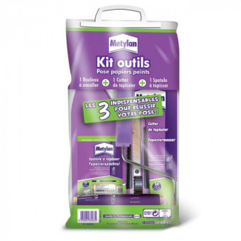 Kit outils pour papier peint Metylan