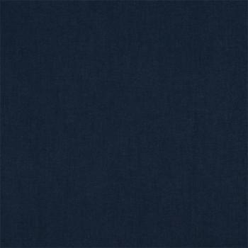Tissu cretonne uni bleu nuit 150 cm