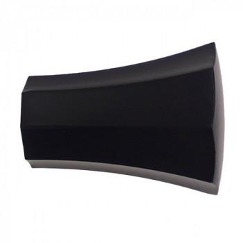 Embout JAZZ Pommeau hexagonal noir mat 19 mm