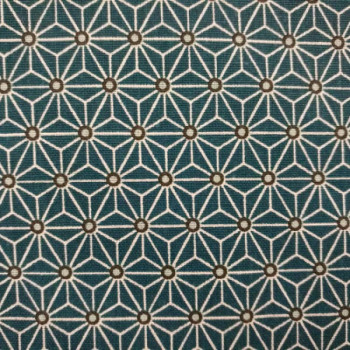 Tissu coton motifs géométriques