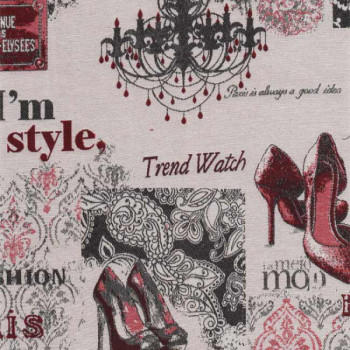 Tissu jacquard fashion style 140 cm