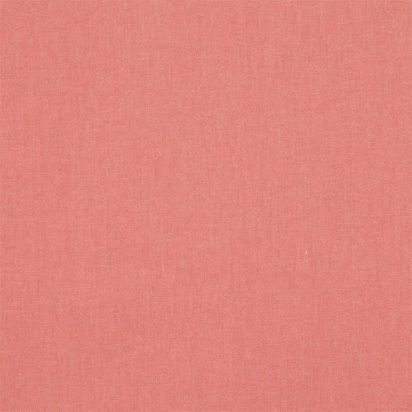 Tissu cretonne uni corail 150 cm