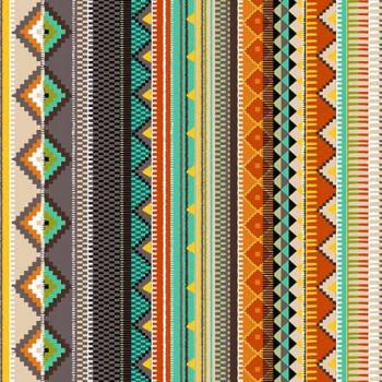 Tissu coton imprimé Mexico 160 cm