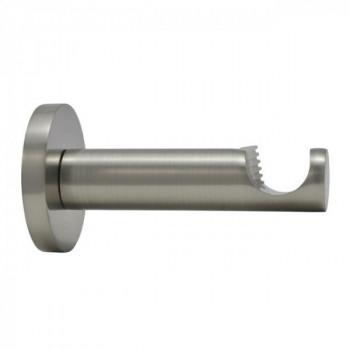 Support ouvert KORUM nickel brossé 83 mm D19mm