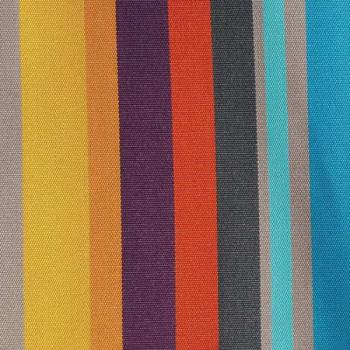 Tissu enduit rayé qualité supérieure 160 cm
