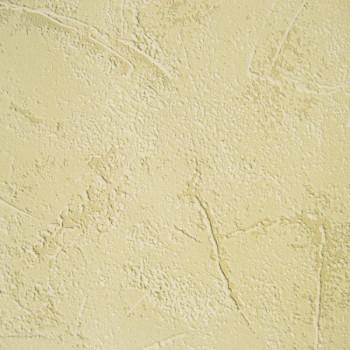 Papier peint intissé effet mur d'autrefois jaune
