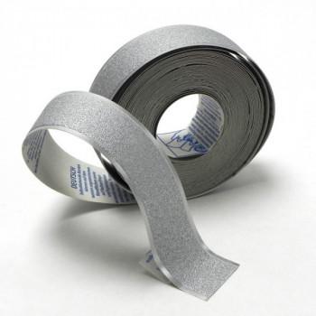 Bordure adhésive argent