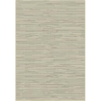 Tapis blanc - greige - noir 160 x 230 cm
