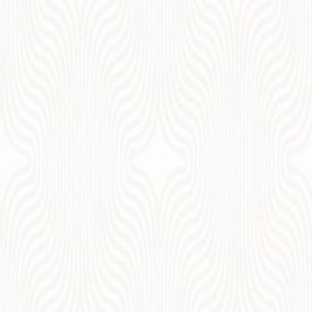 Papier peint intissé lessivable blanc pailetté