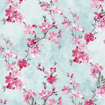 Tissu coton Fleurs de cerisier 150 cm