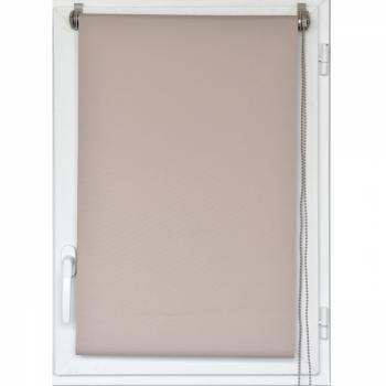 Store enrouleur occultant beige 45 x 90 cm